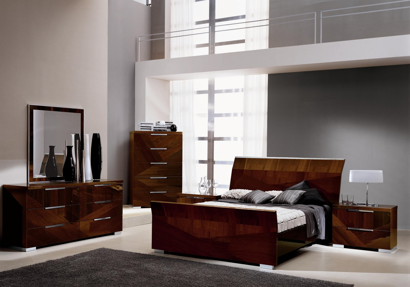 Esf alf capri bedroom set royal furniture outlet for Bedroom furniture outlet