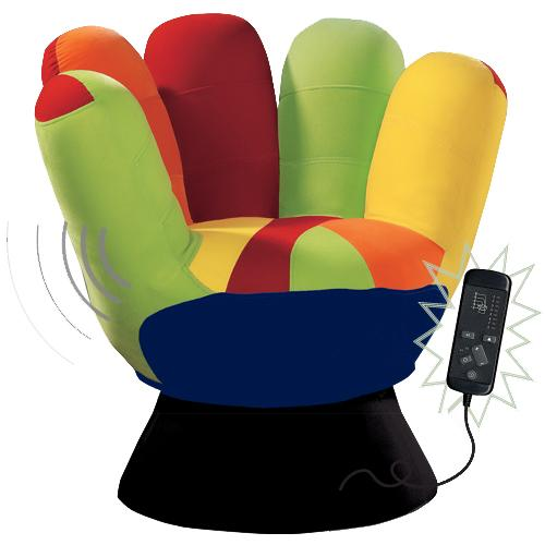 Lumisource – Vibrating Mitt Chair – Royal Furniture Outlet