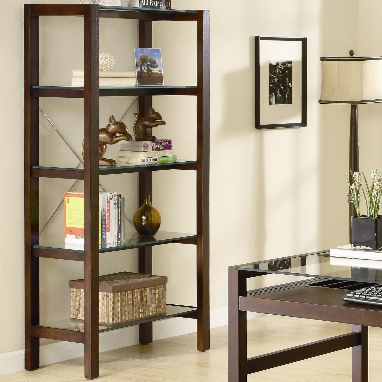 living room shelving units