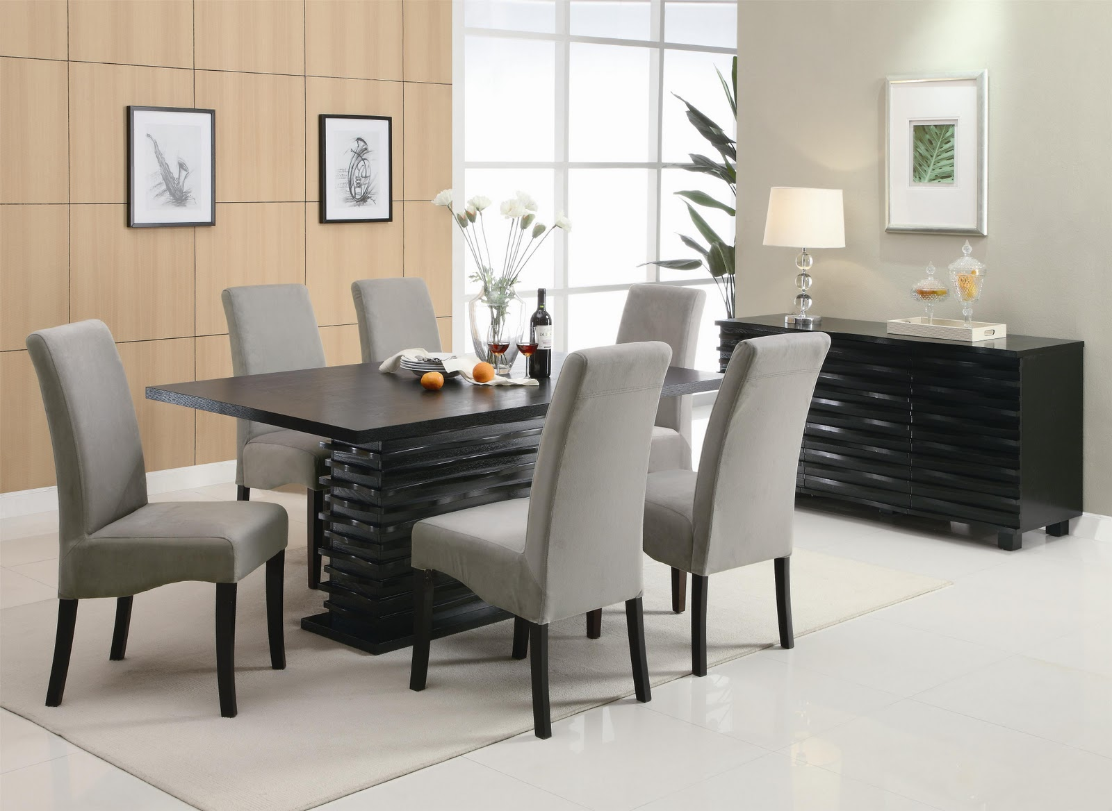 contemporary dining room chair | Dining Room | Royal Furniture Outlet