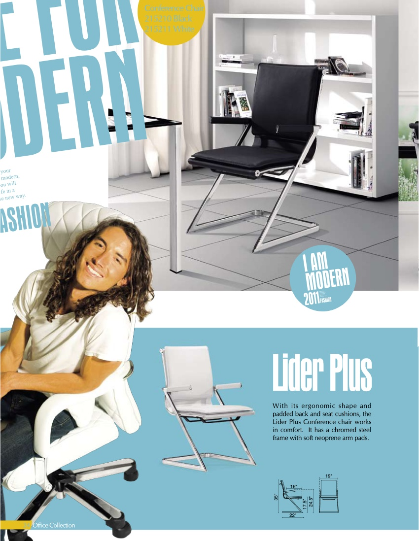 Zuo Lider Plus Conference Chair Royal Furniture Outlet 215 355 2880 Spotlight Item Royal Furniture Outlet